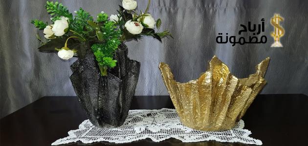 Photo of اشغال يدوية بالاسمنت 12 فكرة بالخطوات والصور